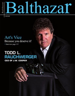 JW COOPER BALTHAZAR MAGAZINE COVER